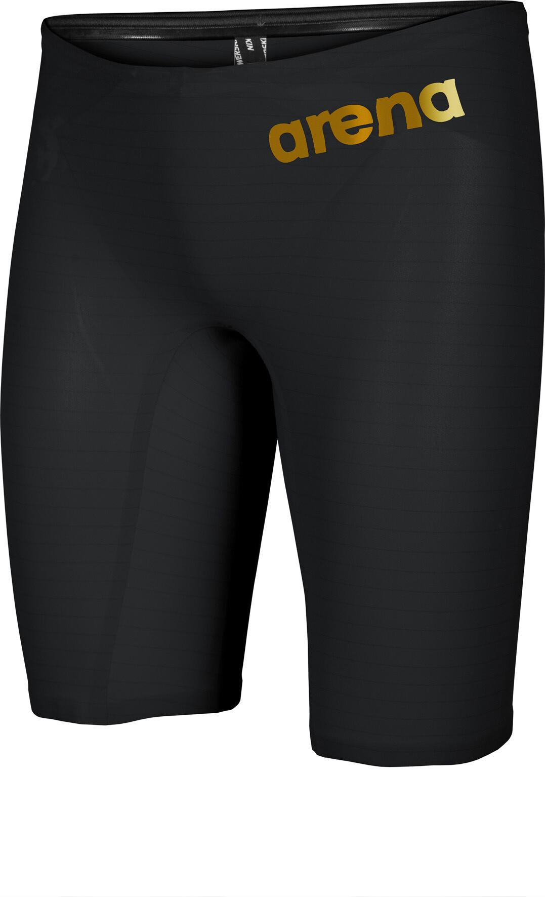 6d412e9e54ec arena Powerskin Carbon Air 2 Costume da gara jammer Uomo, black/black/gold